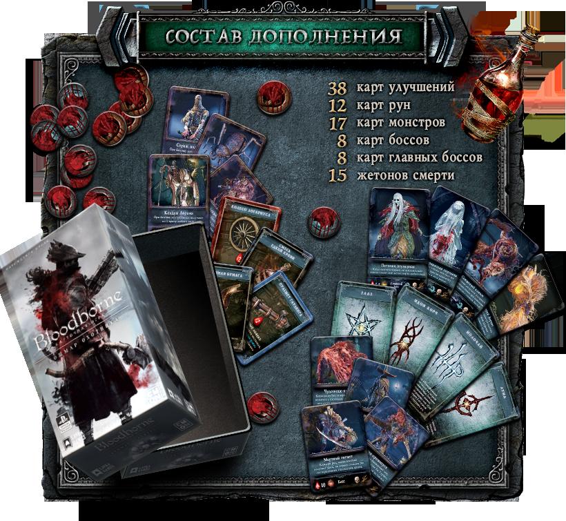 bloodborne купить настольную игру